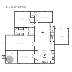 Easy to use house design software for Professional floor plan software